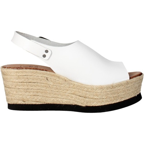 Chaussures Femme Sandales et Nu-pieds Tdl Collection 5372677-6 Sandale Femme Blanc Blanc