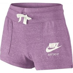 Vêtements Fille Shorts / Bermudas Nike Short sport fille Vintage violet