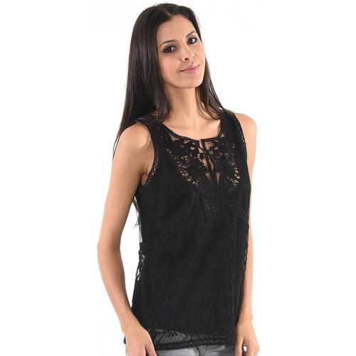 Vêtements Femme Tops / Blouses Kaporal Top Flam Noir Noir