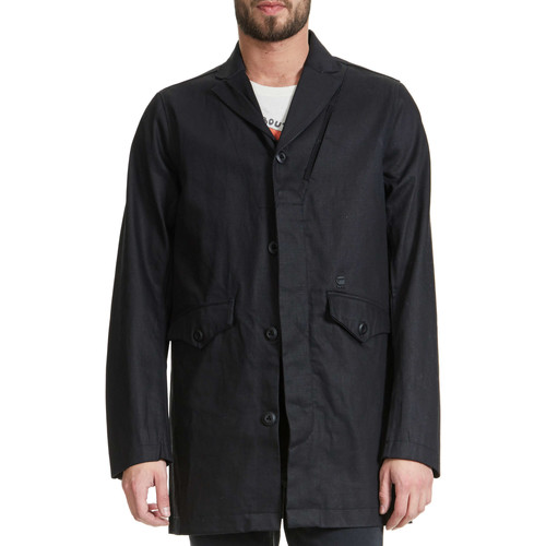 Vêtements Homme Parkas G-Star Raw Trench  Cc Garbr Trench Noir Homme Noir