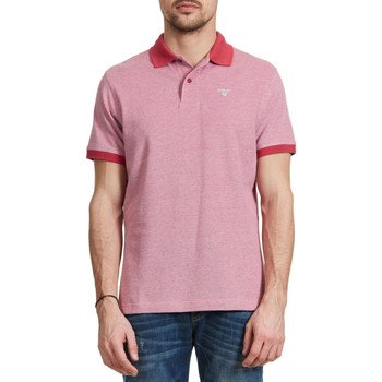 Vêtements Homme Polos manches courtes Barbour Polo  Framboise Homme Rose