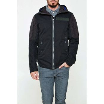 Blouson G-Star raw parka g star batt hooded noir homme