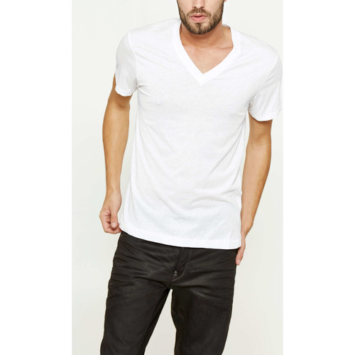 Vêtements Homme T-shirts manches courtes G-Star Raw Tee Shirt  Neoth V T S/s Blanc Homme Blanc