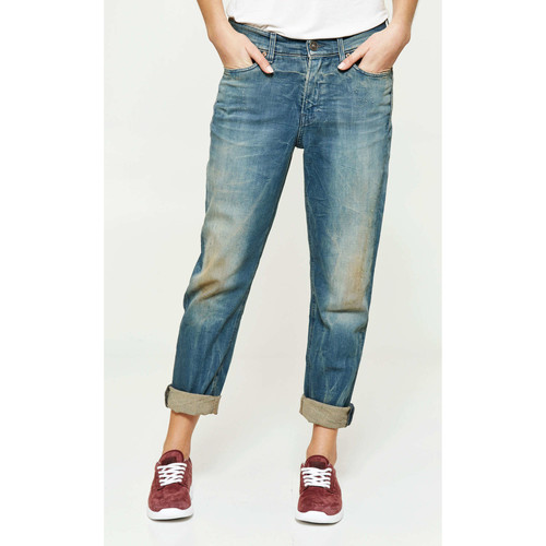 Vêtements Femme Jeans boyfriend G-Star Raw Jeans  3301 Relaxed Tapered Tapered Bleu Delave Femme Bleu