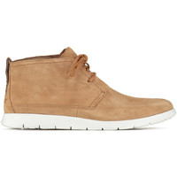 Chaussures Femme Baskets montantes UGG Chaussures  Freamon Camel Blanc Homme Camel