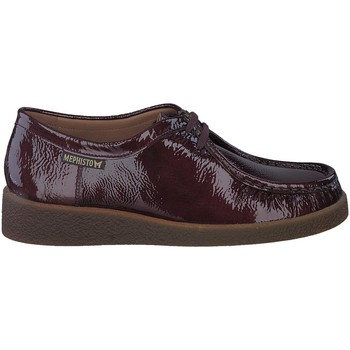 Chaussures Femme Mocassins Mephisto Chaussures CHRISTY Rouge