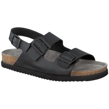 Chaussures Homme Sandales et Nu-pieds Mephisto Sandale cuir NARDO Noir