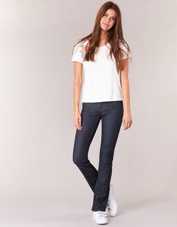 Yurban Ihekikou Bootcut Femme Bleu Vêtements Jeans VzpUMS