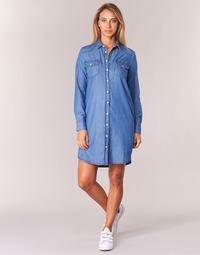 Vêtements Femme Robes courtes Yurban IHEBELLA Bleu