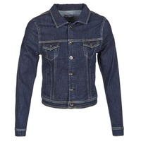 Vêtements Femme Vestes en jean Yurban HELEFI Bleu medium