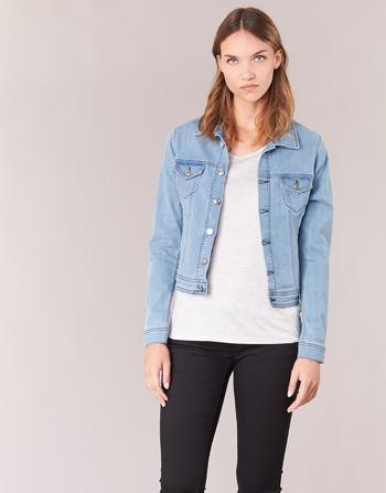 Ihelefi Bleu Vestes En Yurban Vêtements Femme Jean Clair KF1Jcl