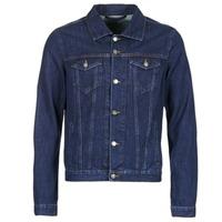Vêtements Homme Vestes en jean Yurban HEDEM Bleu brut