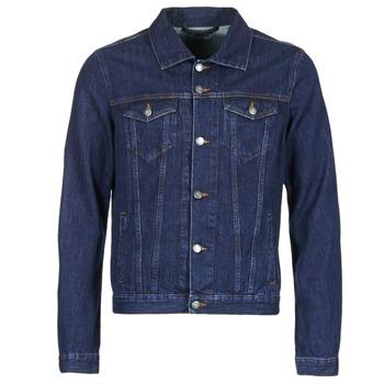 Vêtements Homme Vestes en jean Yurban IHEDEM Bleu brut