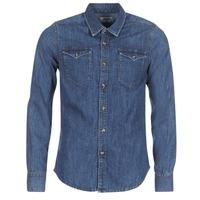 Vêtements Homme Chemises manches longues Yurban IHERZI Bleu medium
