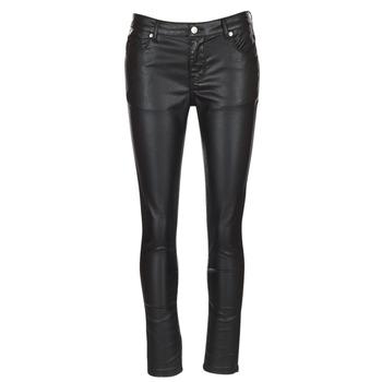 Vêtements Femme Pantalons 5 poches Yurban HENDUI Noir