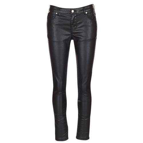 Vêtements Femme Pantalons 5 poches Moony Mood HENDUI Noir