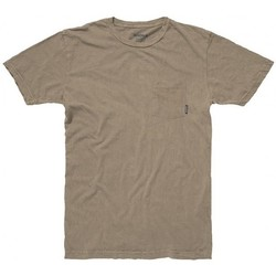 Vêtements Homme T-shirts manches courtes Nixon T-shirt  Vessel - Coffee Marron