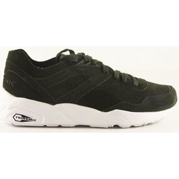 Chaussures Homme Baskets basses Puma Baskets  R698 Soft Forest Night Trinomic Vert