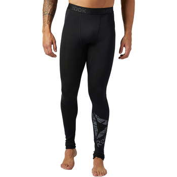 Vêtements Homme Leggings Reebok Sport Collant de compression Workout Ready Noir