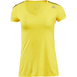 Vêtements Femme T-shirts manches courtes Reebok Sport T-shirt  ONE Series ACTIVChill Yellow