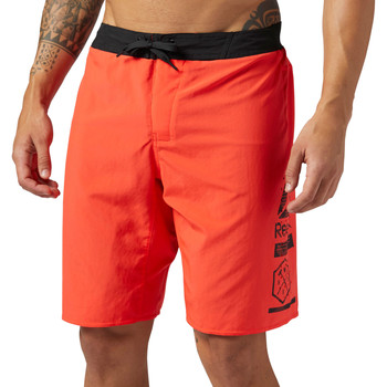 Vêtements Homme Shorts / Bermudas Reebok Sport Short 2-en-1 Epic Red