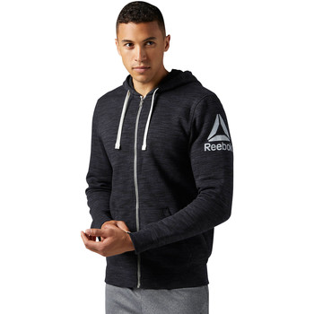 Vêtements Homme Sweats Reebok Sport Sweat à capuche Elements Full Zip Noir