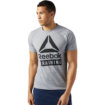 Vêtements Homme T-shirts manches courtes Reebok Sport T-shirt Training Speedwick Gris