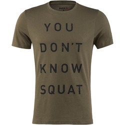 Vêtements Homme T-shirts manches courtes Reebok Sport T-shirt Dont Know Squat Green