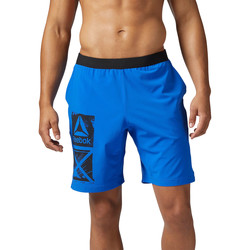 Vêtements Homme Shorts / Bermudas Reebok Sport Short Graphic Speed Bleu