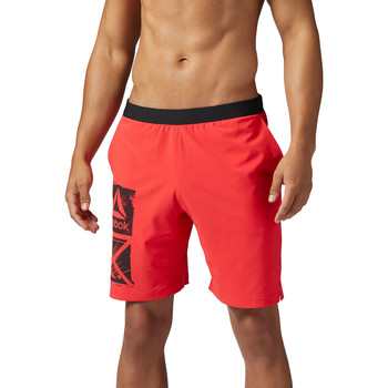 Vêtements Homme Shorts / Bermudas Reebok Sport Short Graphic Speed Red