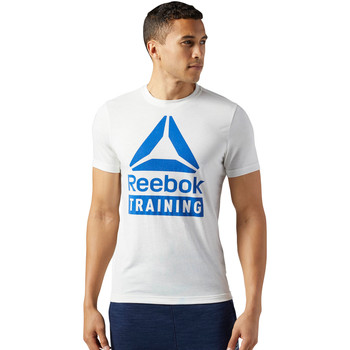 Vêtements Homme T-shirts manches courtes Reebok Sport T-shirt Training Speedwick Blanc