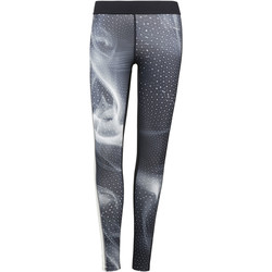 Vêtements Femme Leggings Reebok Sport Legging de compression - motif Cymatic Noir