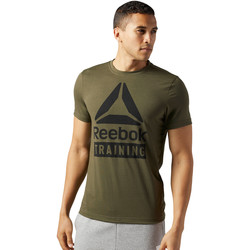 Vêtements Homme T-shirts manches courtes Reebok Sport T-shirt Training Speedwick Green