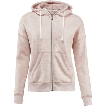 Vêtements Femme Sweats Reebok Sport Veste à capuche Elements Marble Full Zip Pink