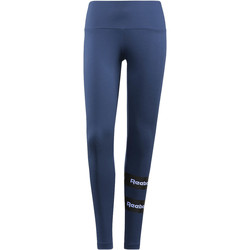 Vêtements Femme Leggings Reebok Classic Legging  Stripe Bleu