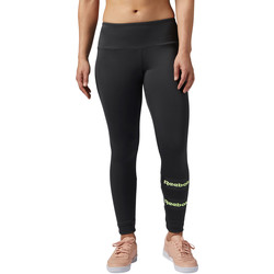 Vêtements Femme Leggings Reebok Classic Legging  Stripe Noir