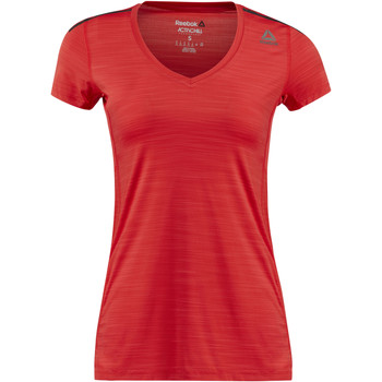 Vêtements Femme T-shirts manches courtes Reebok Sport T-shirt  ONE Series ACTIVChill Red