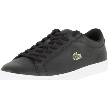 Chaussures Homme Baskets basses Lacoste Homme Straightset BL 1 Cam Trainers, Noir noir