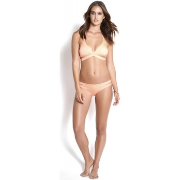 Vêtements Femme Maillots de bain séparables Watercult Bas de Bikini double bandes  Abricot Orange