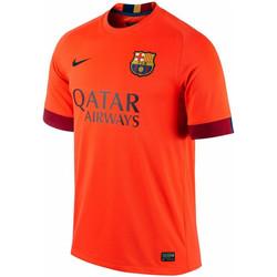 Vêtements Garçon T-shirts manches courtes Nike Maillot  Junior FC Barcelona Stadium Away 2014/2015 - 610793-672 Orange