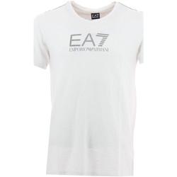 Vêtements Homme T-shirts manches courtes Emporio Armani EA7 Tee-shirt  (Blanc) Blanc