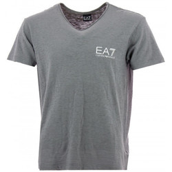 Vêtements Homme T-shirts manches courtes Emporio Armani EA7 Tee-shirt  (Gris) Gris