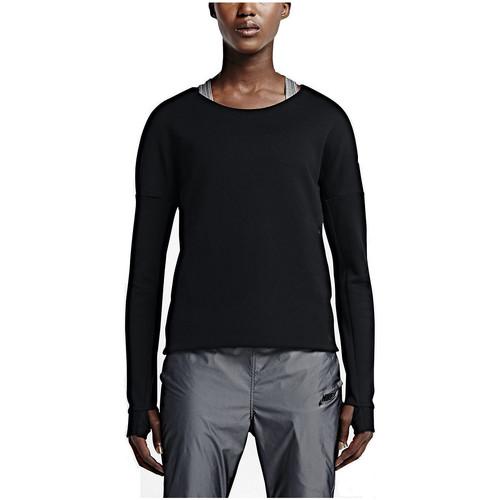 Vêtements Femme Sweats Nike Sweat  Tech Fleece Crew - 685748-010 Noir