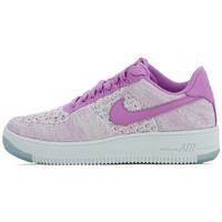 Chaussures Femme Baskets basses Nike Air Force 1 Flyknit Low - 820256-500 Violet
