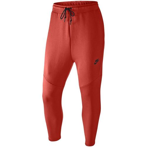 Vêtements Homme Pantalons de survêtement Nike Pantalon de survêtement Tech Fleece Cropped - 727355-696 Rouge