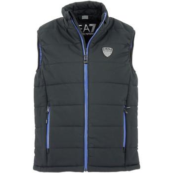 Vêtements Homme Doudounes Emporio Armani EA7 Doudoune sans manches EA7 Down Jacket Emporio Armani Noir