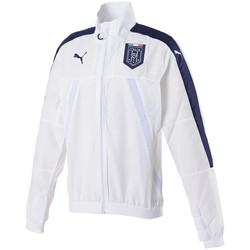 Vêtements Homme Vestes de survêtement Puma Veste de survêtement  FIGC Italie Stadium - 750748-02 Blanc