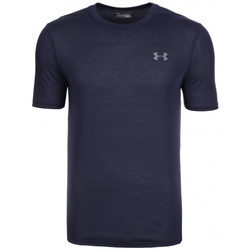 Vêtements Homme T-shirts manches courtes Under Armour Tee-shirt  HeatGear Threadborne Fitted - 1289588-410 Bleu
