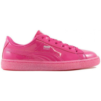 Chaussures Fille Baskets basses Puma Patent Iced Glitter Junior - 362461-01 Rose