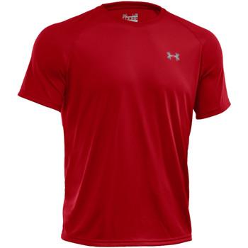 Vêtements Homme T-shirts manches courtes Under Armour Tee-shirt  Tech - 1228539-600 Rouge